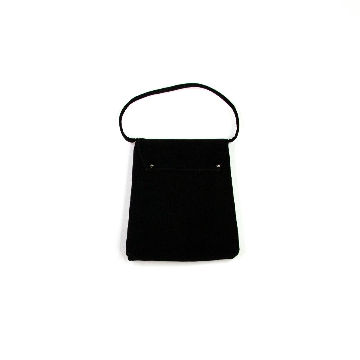 A4_small Black Handbag-backmaster