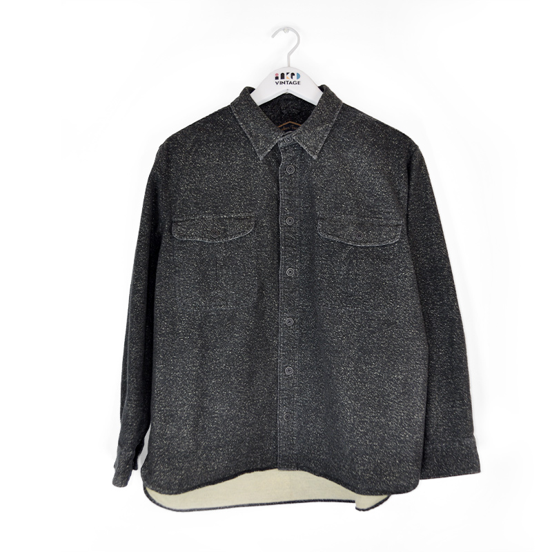 G10_charcoal-speckled-button-up_front